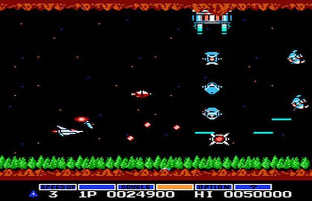 Gradius (NES)   SHMUPS   Old nintendo games, Nintendo games