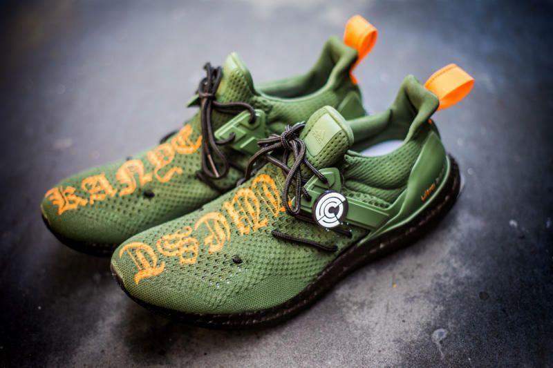 1741564b26 Kanye West Custom adidas Sneakers by Mache