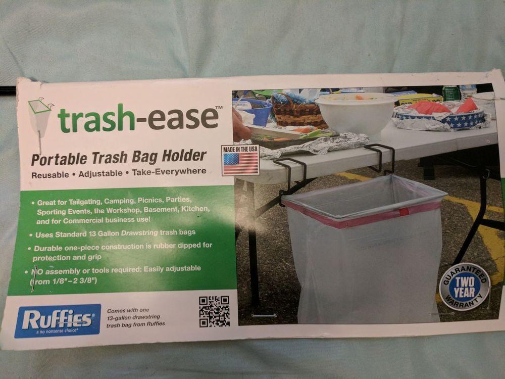 Trash Ease 13 Gallon Portable Trash Bag Holder | Home U0026 Garden, Household  Supplies