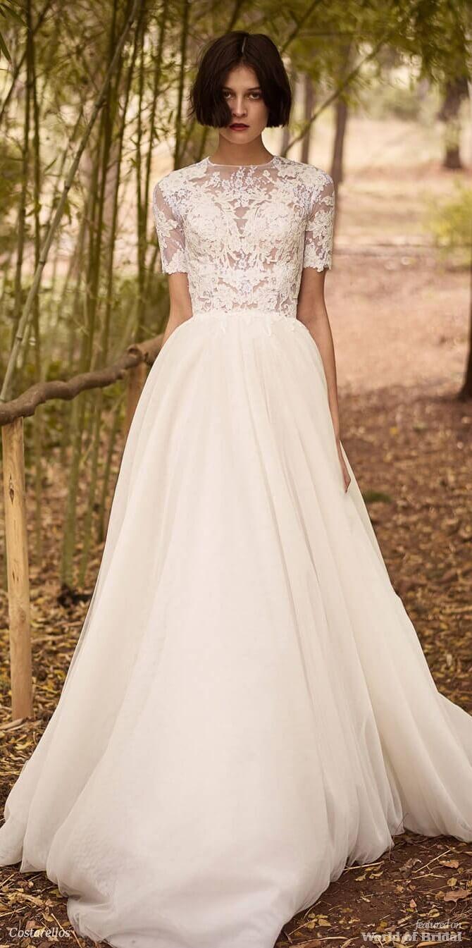 Costarellos bridal fall collection wedding dresses