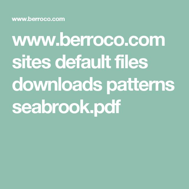 www.berroco.com sites default files downloads patterns seabrook.pdf