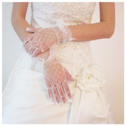 New Design Gorgeous Lace Short Type Gloves For Bride China Wholesale - Sammydress.com