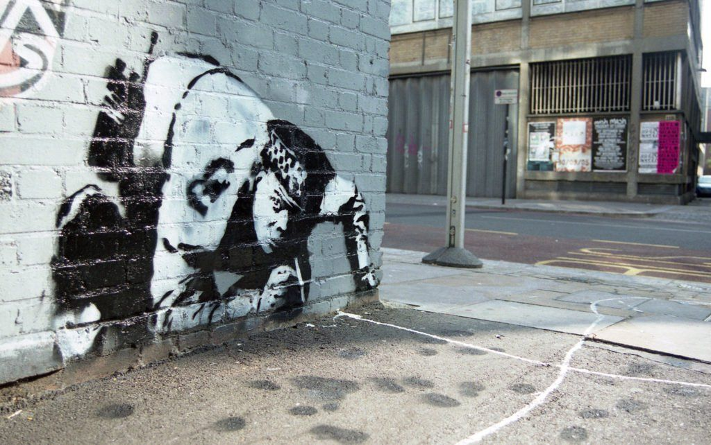 Art Industry News: Lost Banksy of Coke-Sniffing Cop Rediscovered After a Decade + More Must-Read Stories
