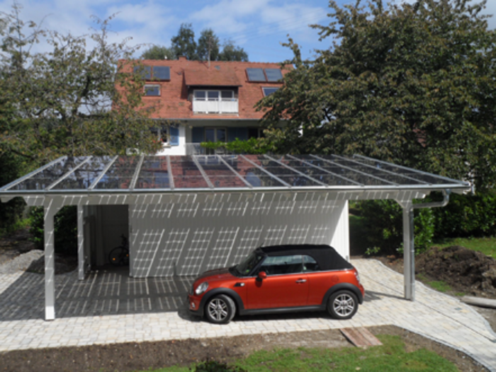 Solar Panel Carport Independence An Added Benefit For