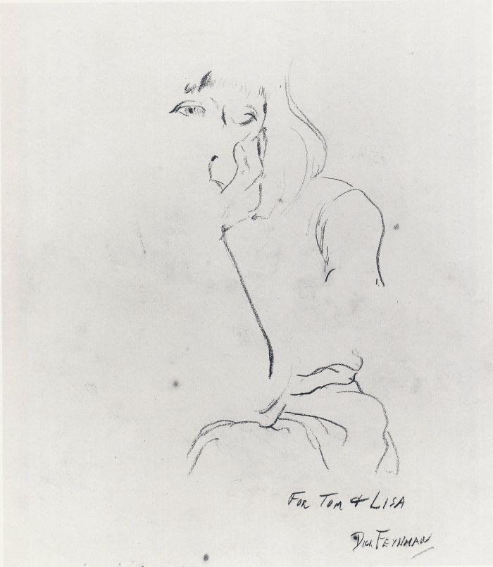 For Tom and Lisa by Richard Feynman