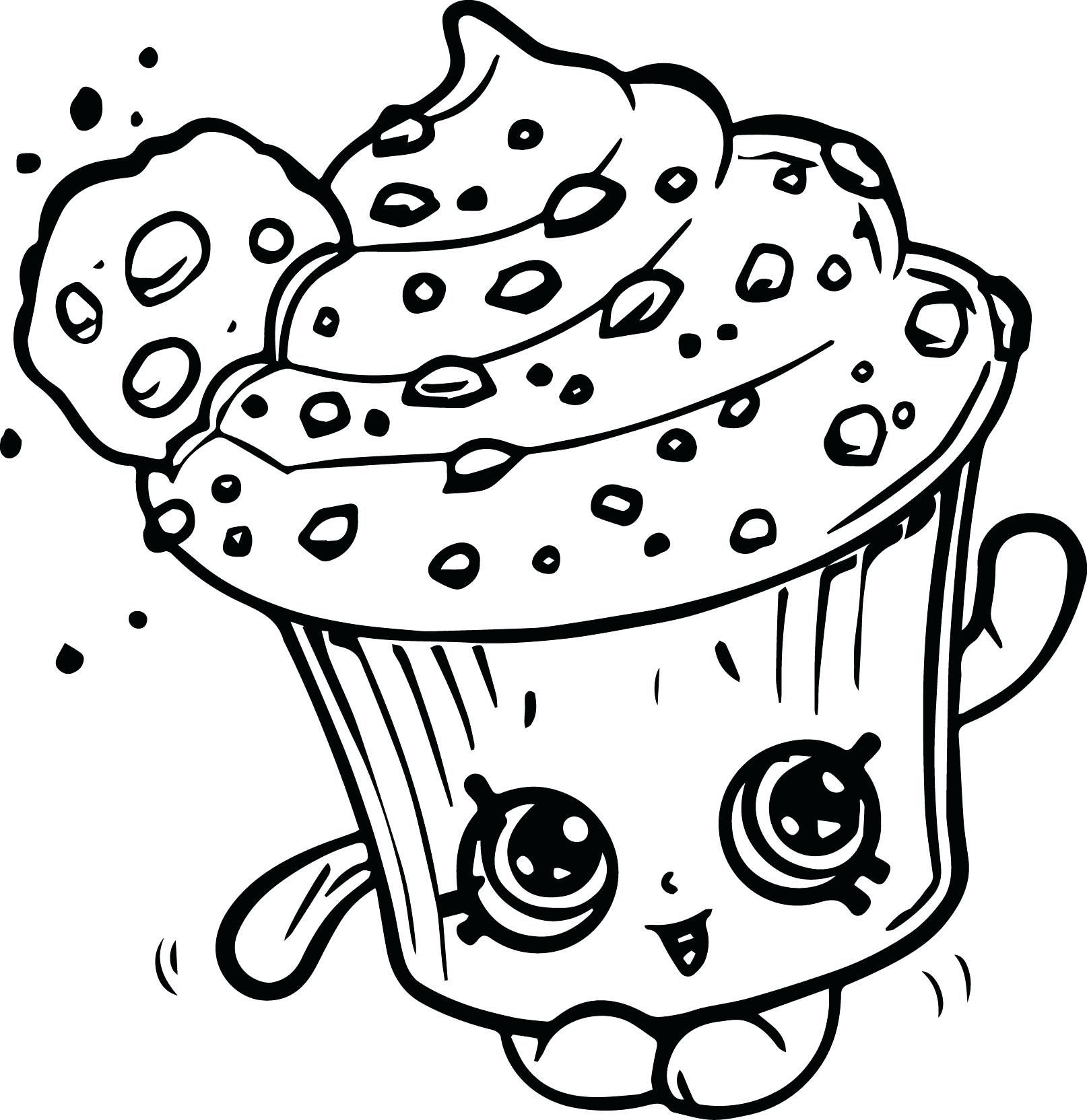 Shopkins Coloring Pages Cupcake Queen 5 Jpg 1614 1664