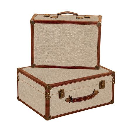 I pinned this 2 Piece Benton Suitcase Set from the Aspire event at Joss and Main!
