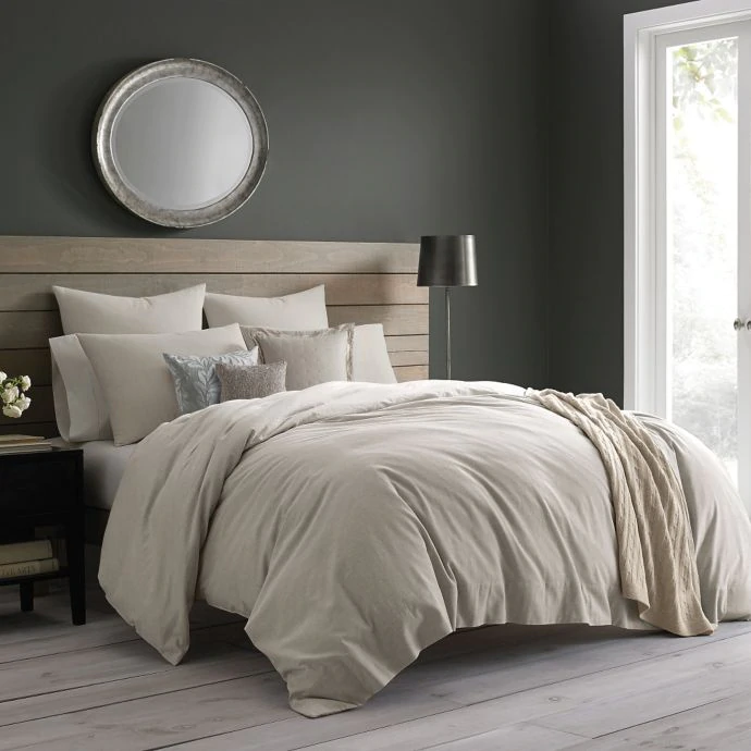 Like This Bed Headboard Idea Wamsutta Vintage Cotton Cashmere Duvet Cover Bed Bath Beyond Bed Linens Luxury Duvet Covers Bed Headboard Ideas