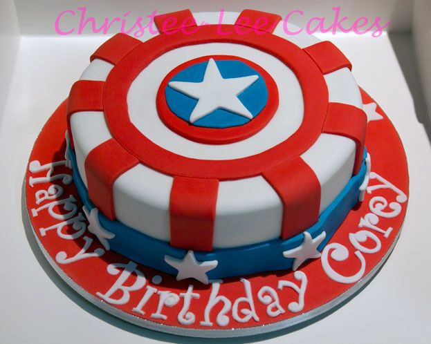 captain america cake ideas captain america shield cake my first