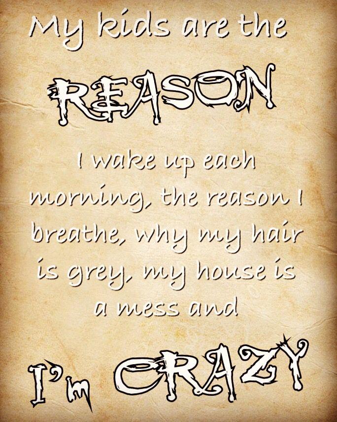 My Kids Are The Reason I Wake Up Each Morning I Breathe Why My