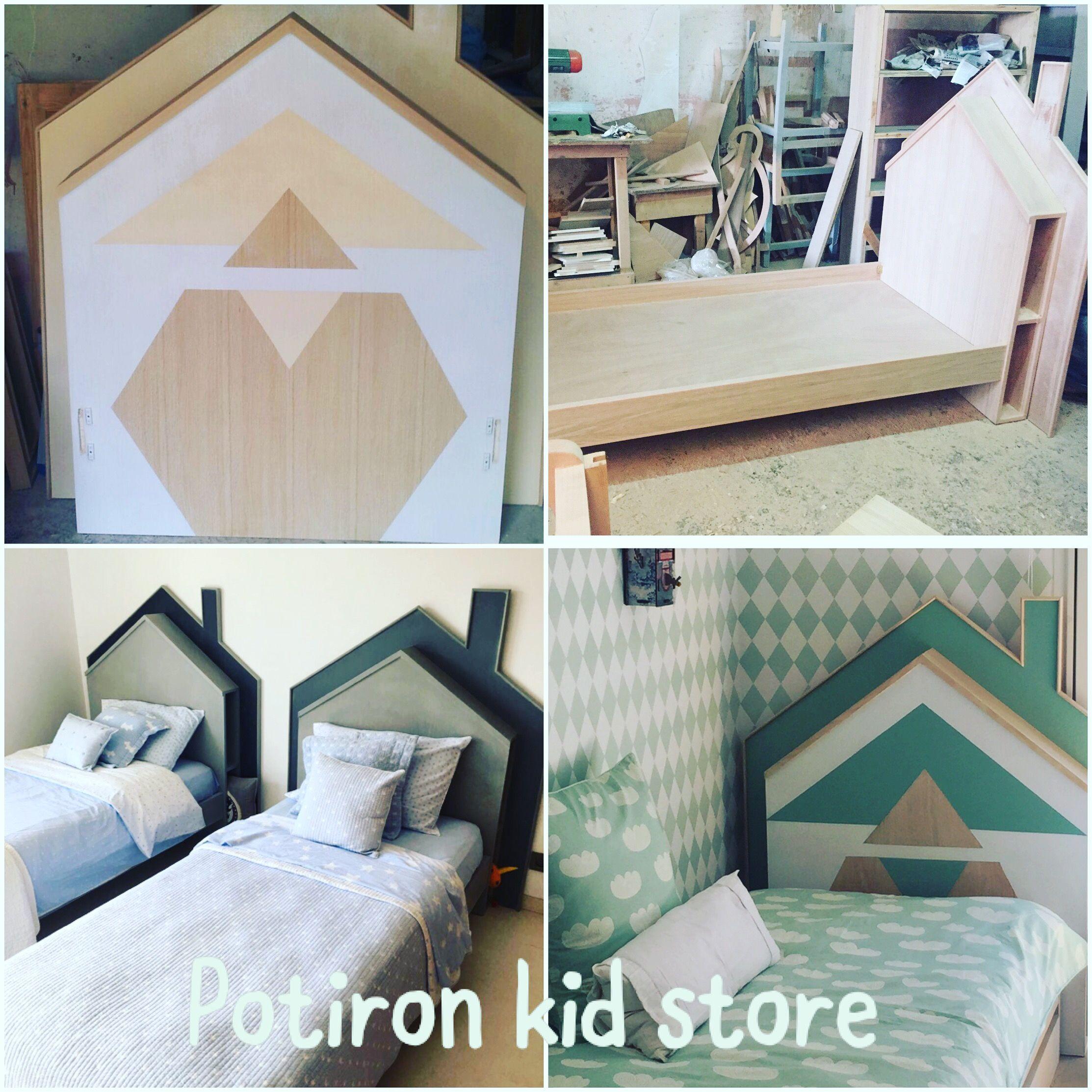 Diy totem by Potiron kid store casablanca Montessori house bed