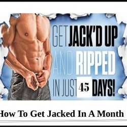 workouts to get jacked fast