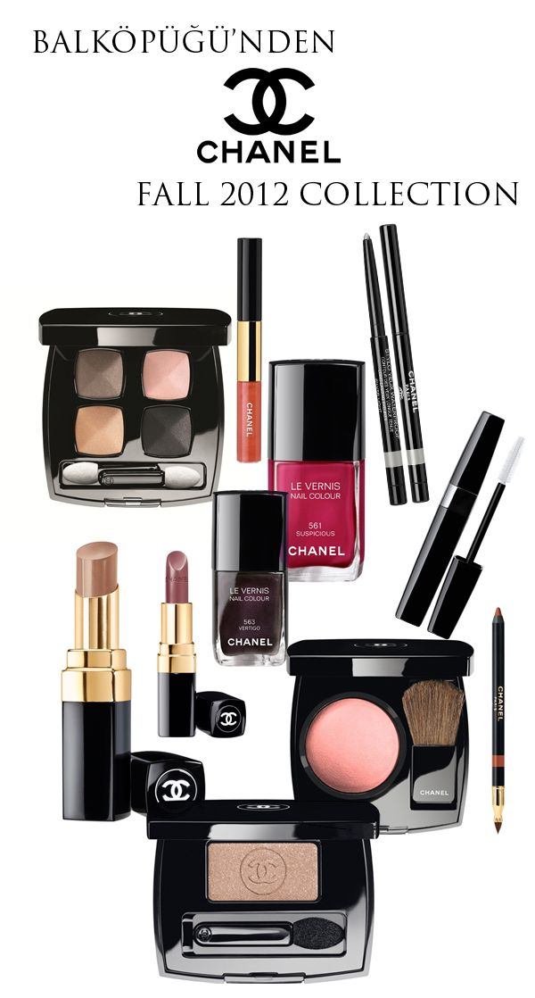 Chanel fall 2012 makeup collection