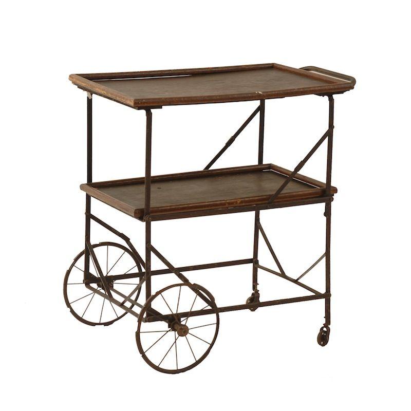 1000 Ideas About Metal Cart On Pinterest: Regis Cart At Found Vintage Rentals. Vintage Metal And