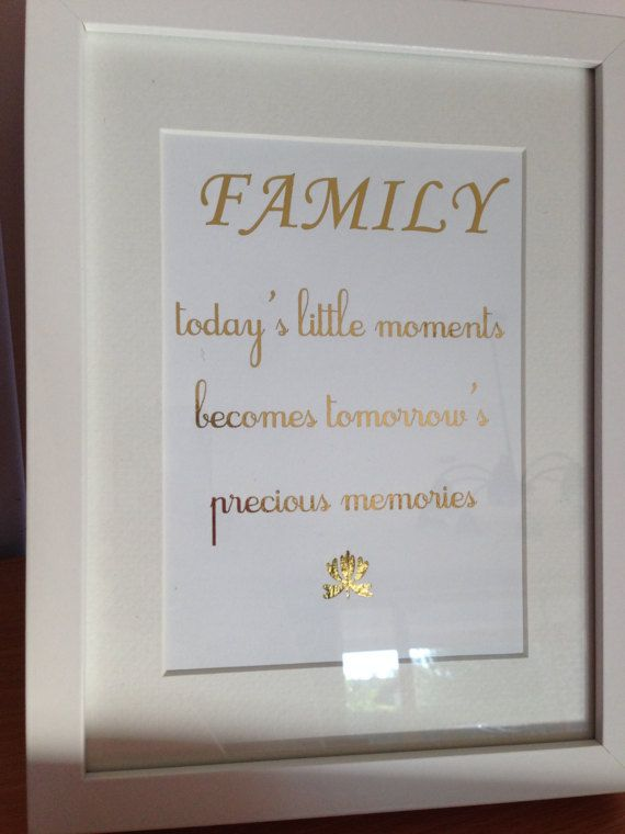 Family Quotes For Picture Frames
