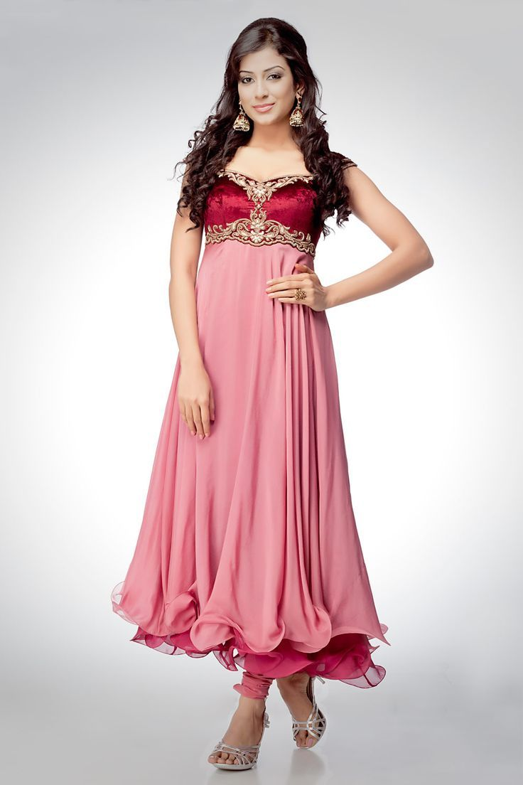 The dress designs - Latest Umbrella Frock Designs Collection 2015 16 For Asian Women Stylesgap Com