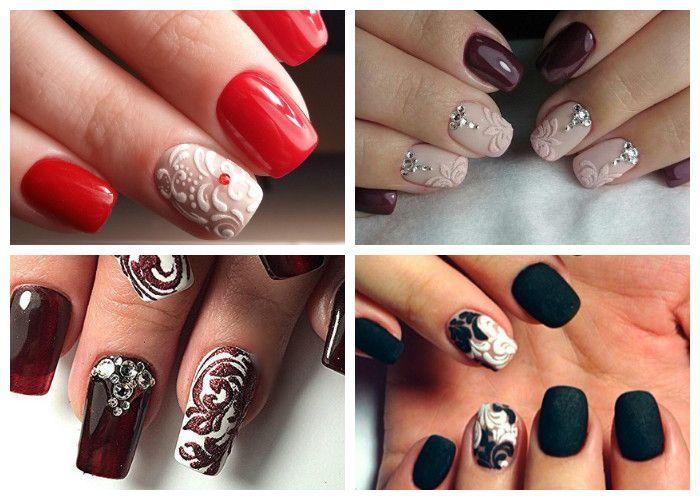 дизайн ногтей на новый год 6