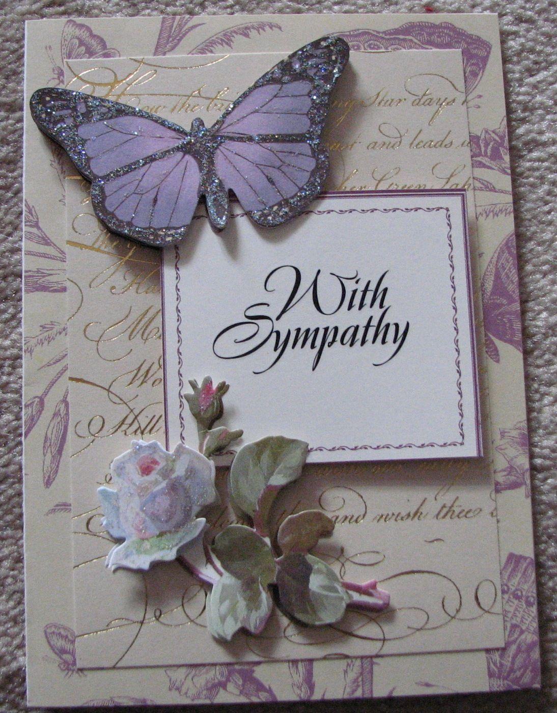 Sympathy Anna Griffin supplies