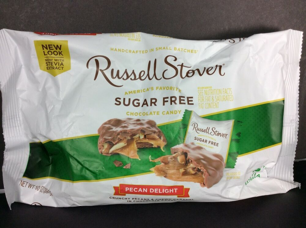Russell Stover Sugar Free Dark Chocolate Pecan Caramel Delights Candy 10 Oz Russellstover In 2020 Sugar Free Dark Chocolate Caramel Delights Chocolate Pecan
