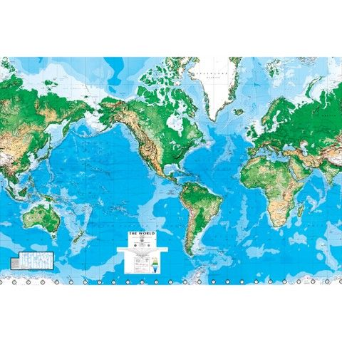 World map wall mural 8x13 target for only 57 now i just world map wall mural 88x130 gumiabroncs Image collections