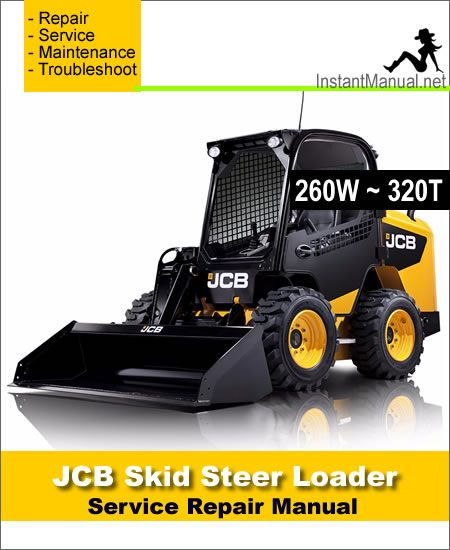 JCB 260W 280W 300W 330W 260T 300T 320T Robot Service Manual