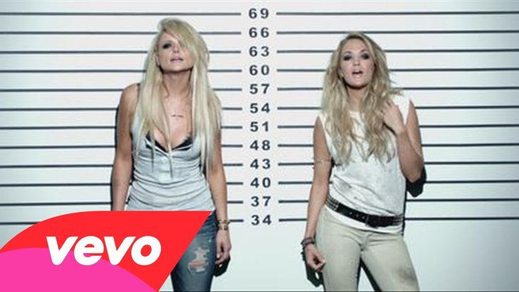 "Pin for Later: This Summer's 7 Sexiest Music Videos ""Somethin' Bad,"" Miranda Lambert featuring Carrie Underwood"