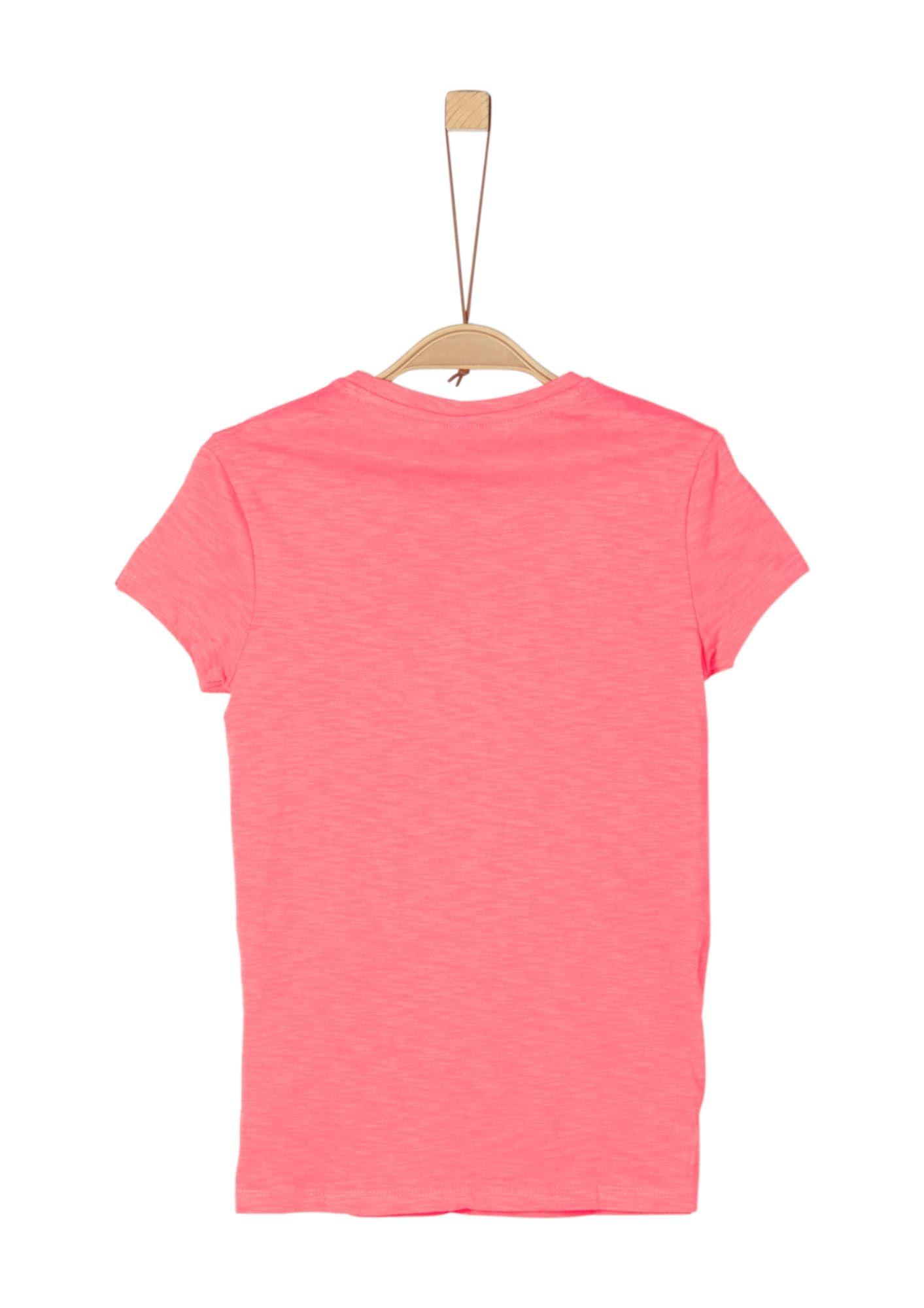 S Oliver Junior Shirt Madchen Gelb Grun Melone Grosse L Frauen T Shirts Shirts Madchen