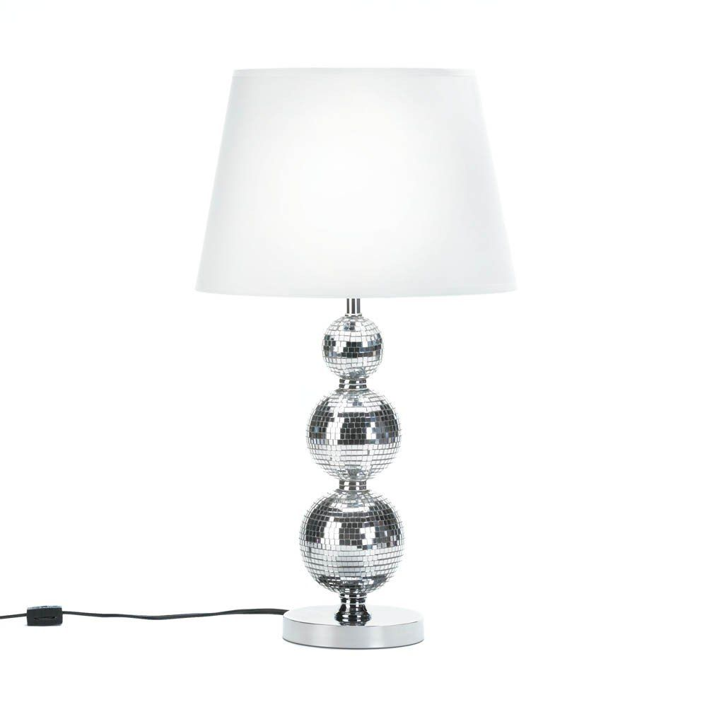 Buy broadway glitz table lamp at the house of awareness for only broadway glitz table lamp 23 tall mirror finish base with fabric shade geotapseo Images