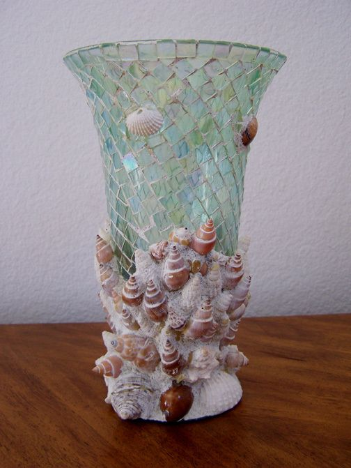 Mouse Over Image To Zoom Beautiful Aqua Mosaic Glass Real