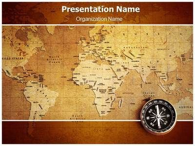 Geographical Map Powerpoint Template Is One Of The Best Powerpoint