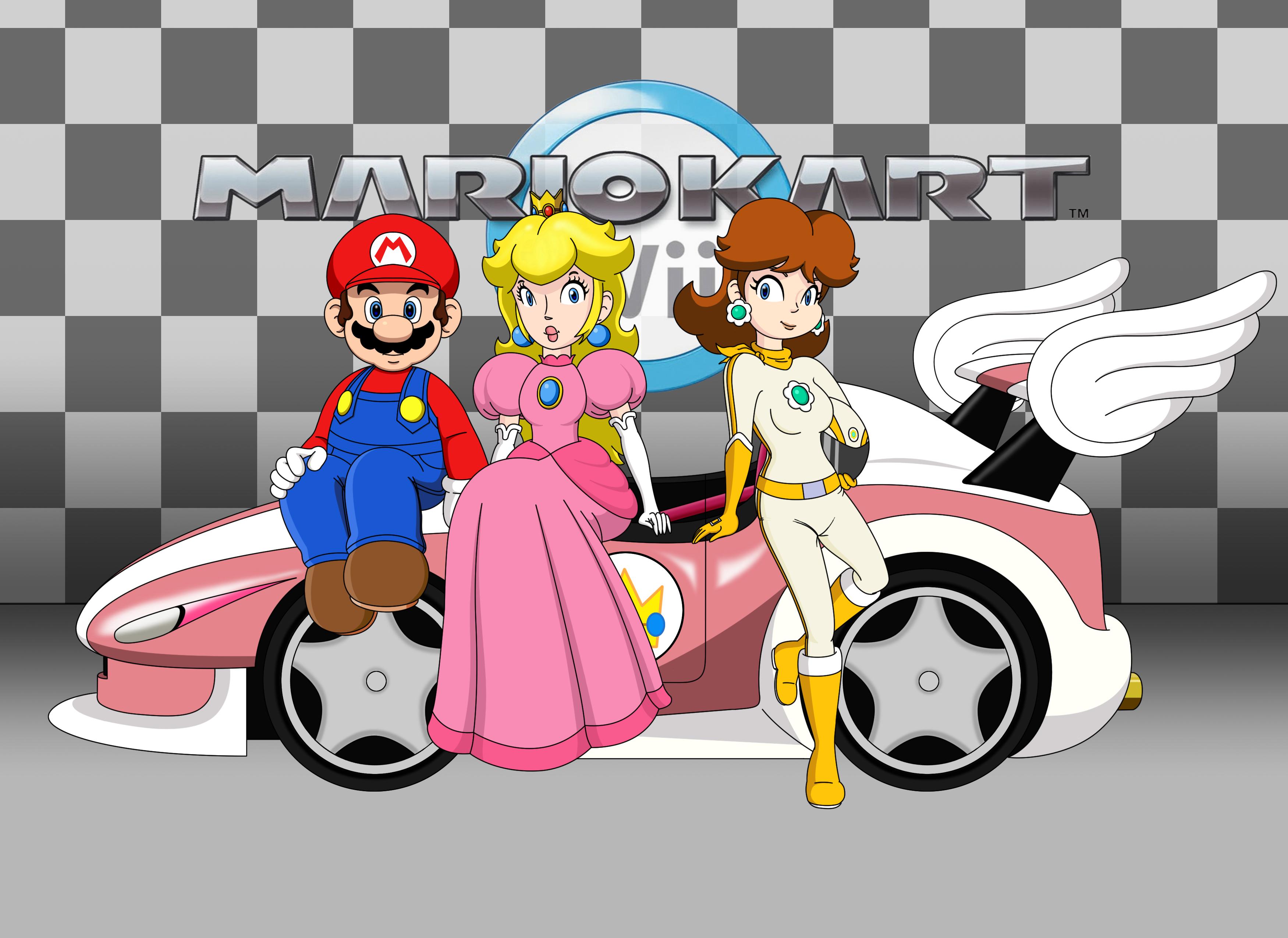 Mario Kart Wii Rosalina Bike