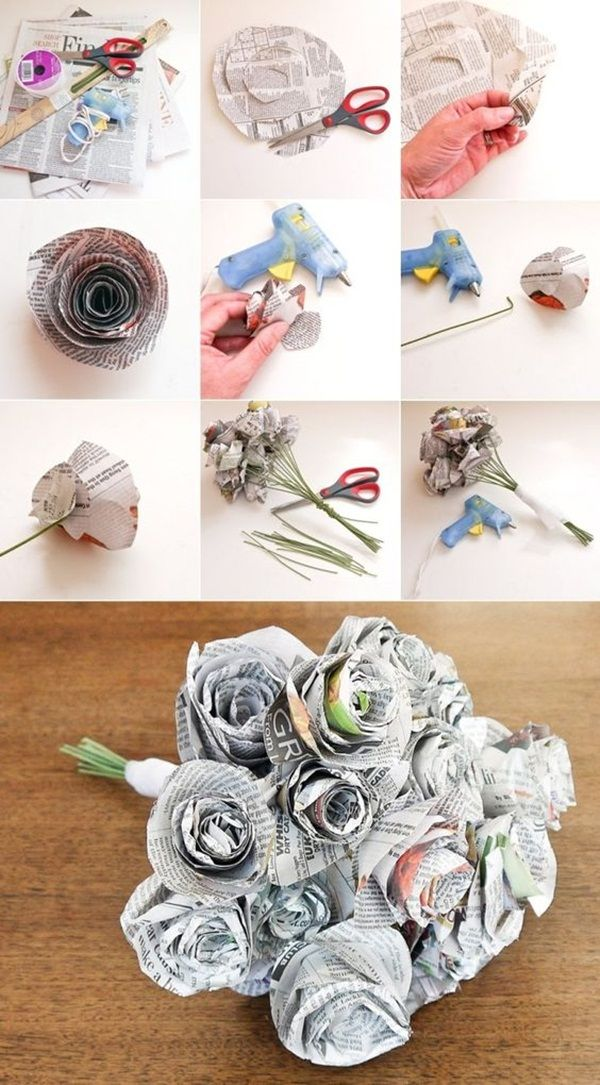 Newspaper Craft Ideas For Kids Part - 15: 42 Simple Newspaper Craft Ideas For Kids (With Tutorials)