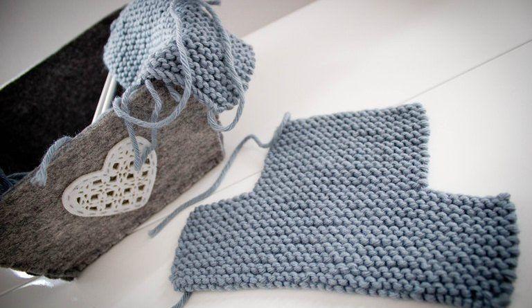 Chausson adulte tricot facile - altoservices   Projet à essayer ... fd63b0f3440