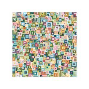 PDF needlepoint pattern / shikaku green mix by CresusArtisanat