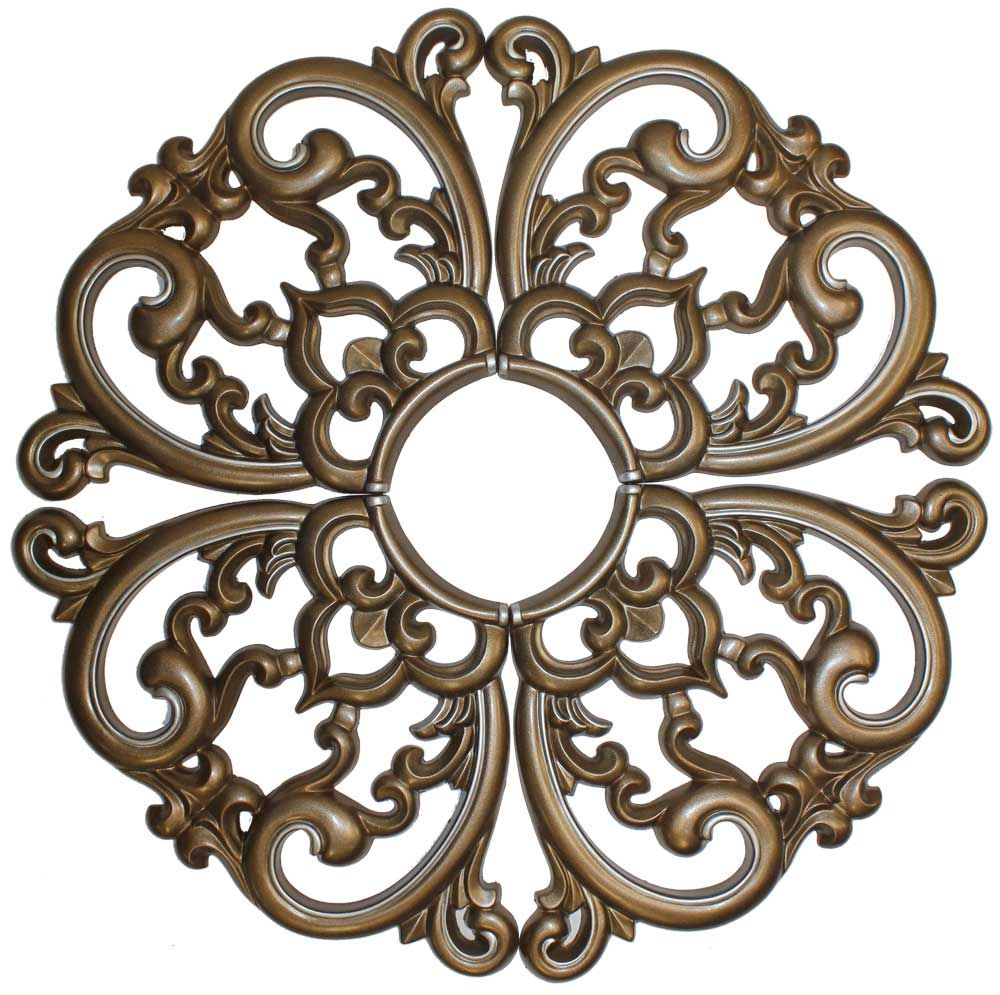 MD-7099 Bronze Pearl Ceiling Medallion (с изображениями ...