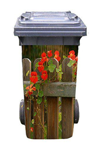 Mulltonnen Aufkleber Motiv Garten 2 31 Cm X 70 Cm Fur 120 Https Www Amazon De Dp B07147hclp Ref Cm Sw R Pi D Mulltonnen Aufkleber Garten Bemalte Mulleimer