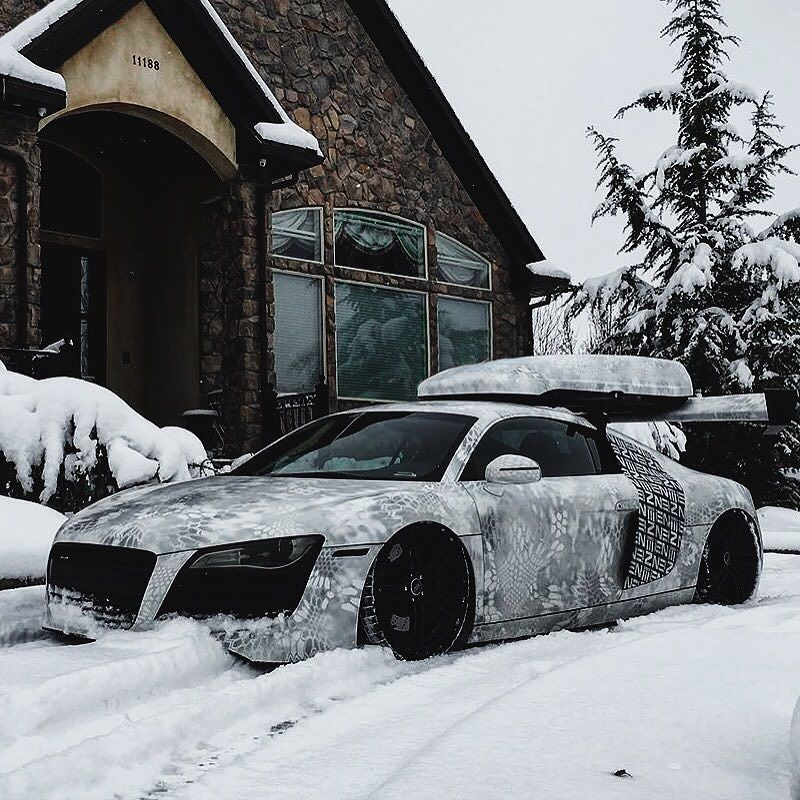 Rs Direct Specialist Cars On Instagram Loving The Wrap On This Audi R8 Audi Audir8 R8 R8v10 V10coupe Supercar Rsdirect Rs Car Super Cars Winter Toy