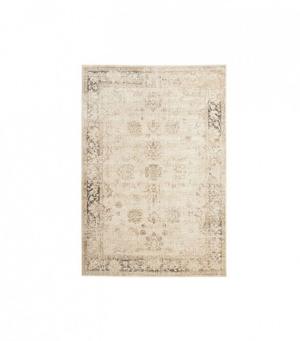 How to Give Your Home the Club Monaco Look via @domainehome Safavieh Vintage Stone Viscose Rug ($165 and up)