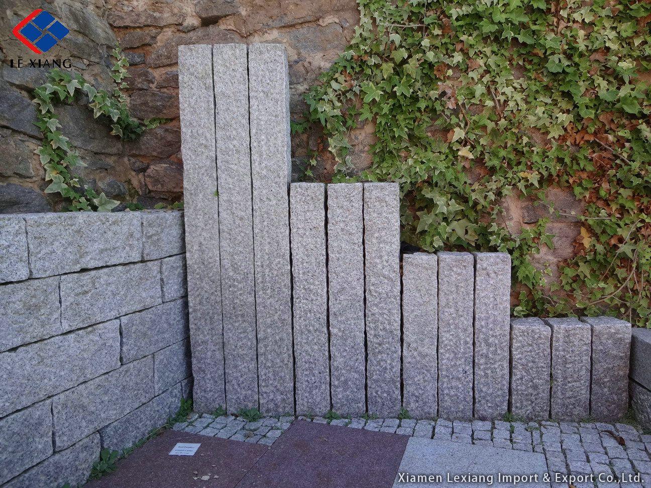 naturstein granit garten pinterest natursteine palisaden und hecken. Black Bedroom Furniture Sets. Home Design Ideas
