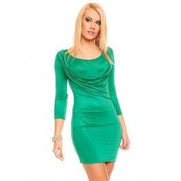 360dc22c3c Vestido Corto Ajustado Verde Online MS751