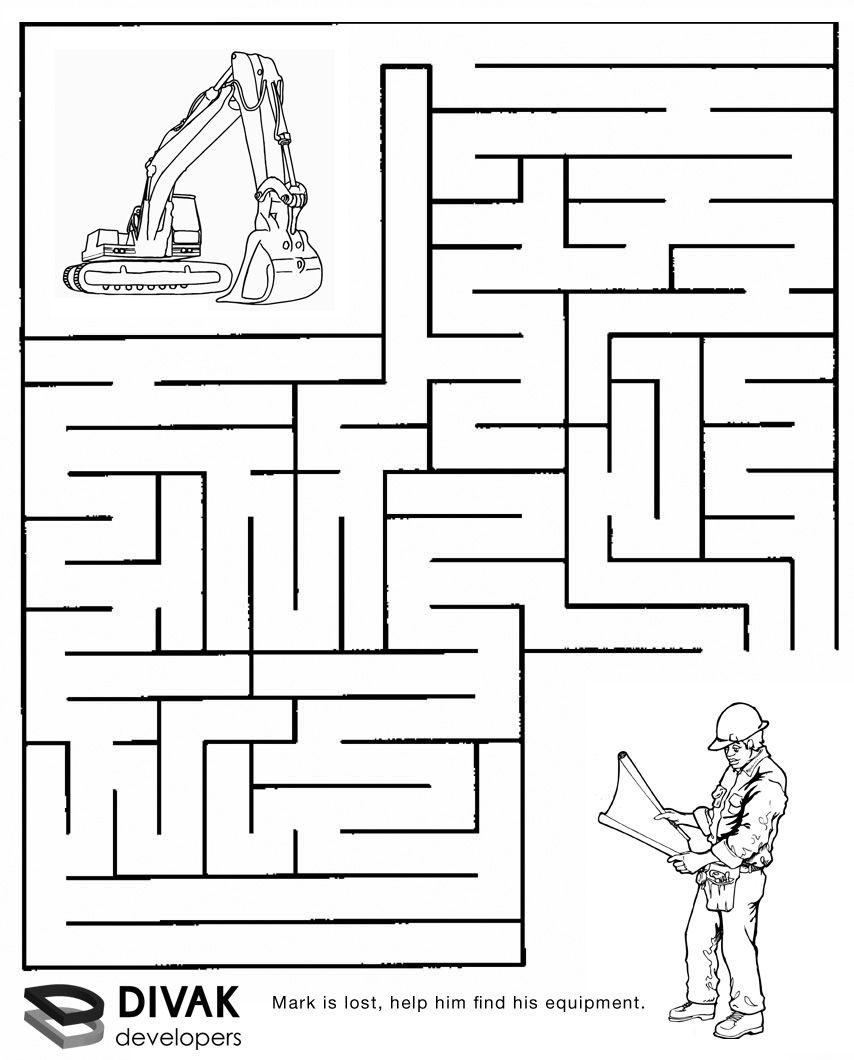Printable Easter Activities: Egg Hunt Maze | Maze, Worksheets and Easter