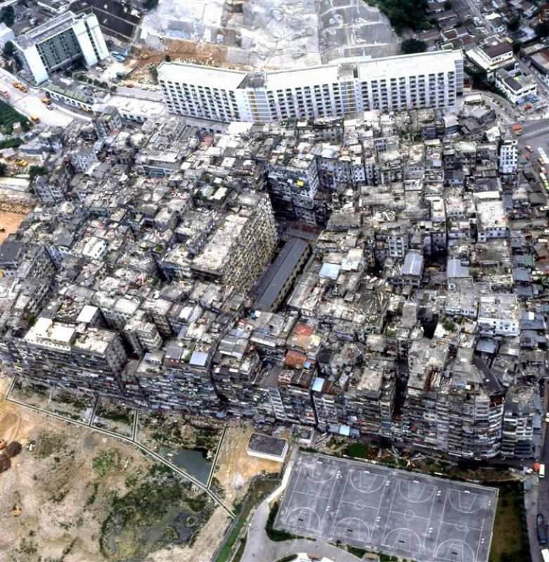 Kowloon Walled City http://www.hongkongbuzz.com/must-see/kowloon-city-walled-park/