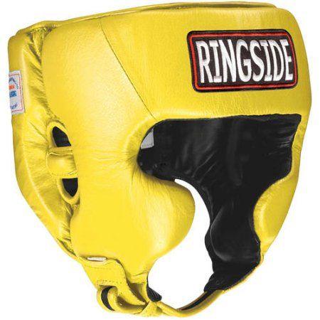 Ringside Golden Gloves Amateur Competition Headgear Medium Black//Gold