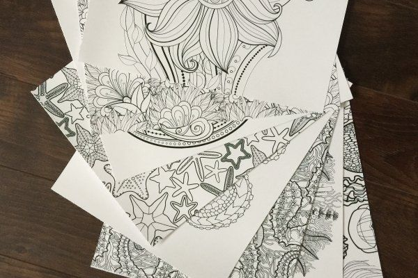 Coloring Pages Featuring Amazing Themed Illustrations