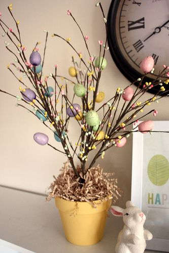 love this Easter tree!