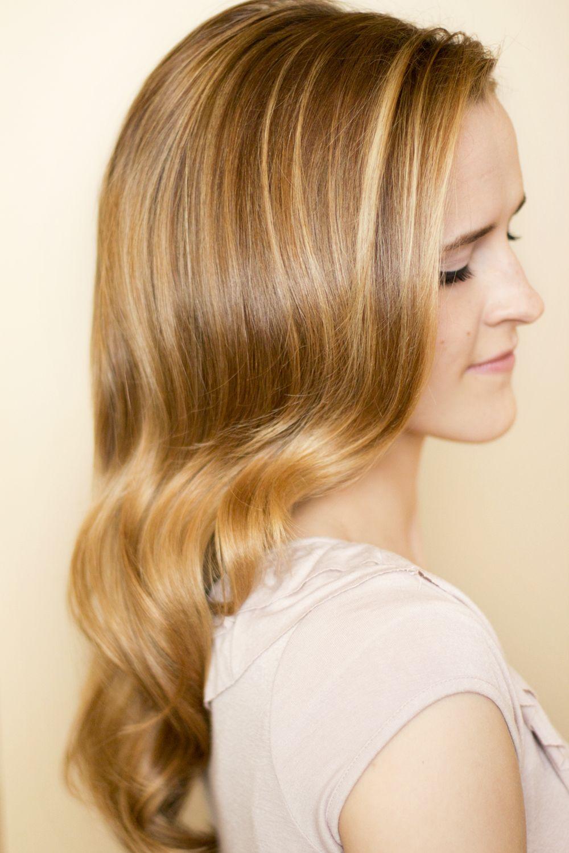 How To: Retro Curls | Retro curls, Vintage hairstyles, Easy vintage hairstyles