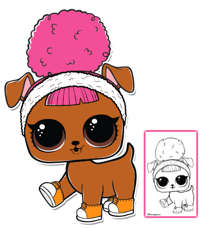 Pets Con Imagenes Munecas Lol Dibujos Adorables Dibujos