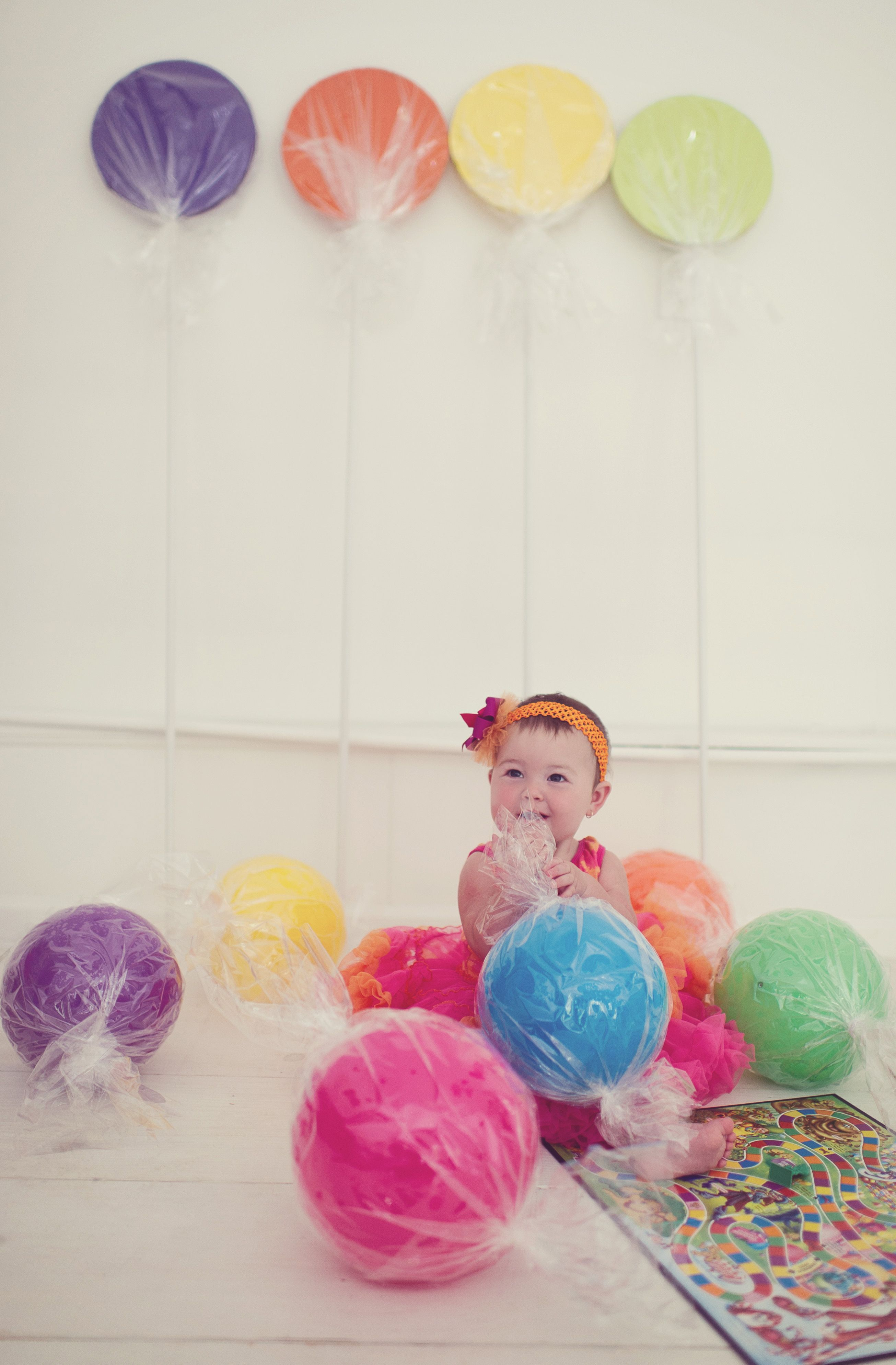 We made the decorations in advance to be used in the photo shoot for ...