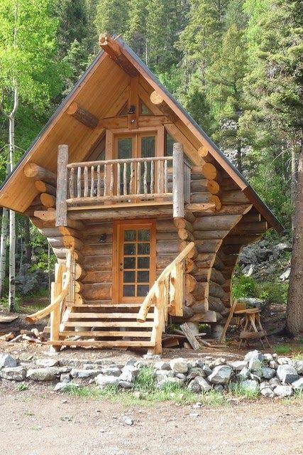 HOME & GARDEN: Les fustes : des maisons en rondins de bois … | Pinteres…