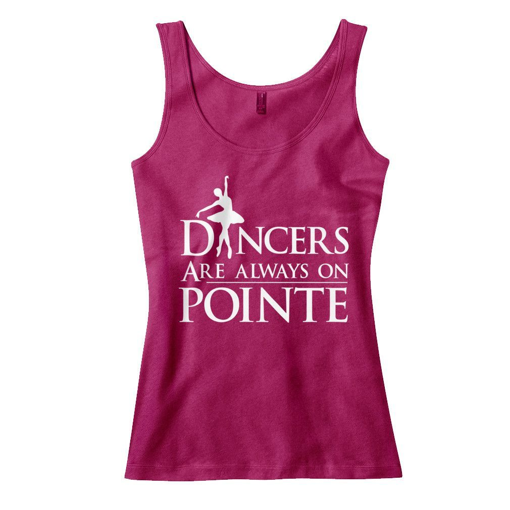 Dancers Are Always On Pointe
